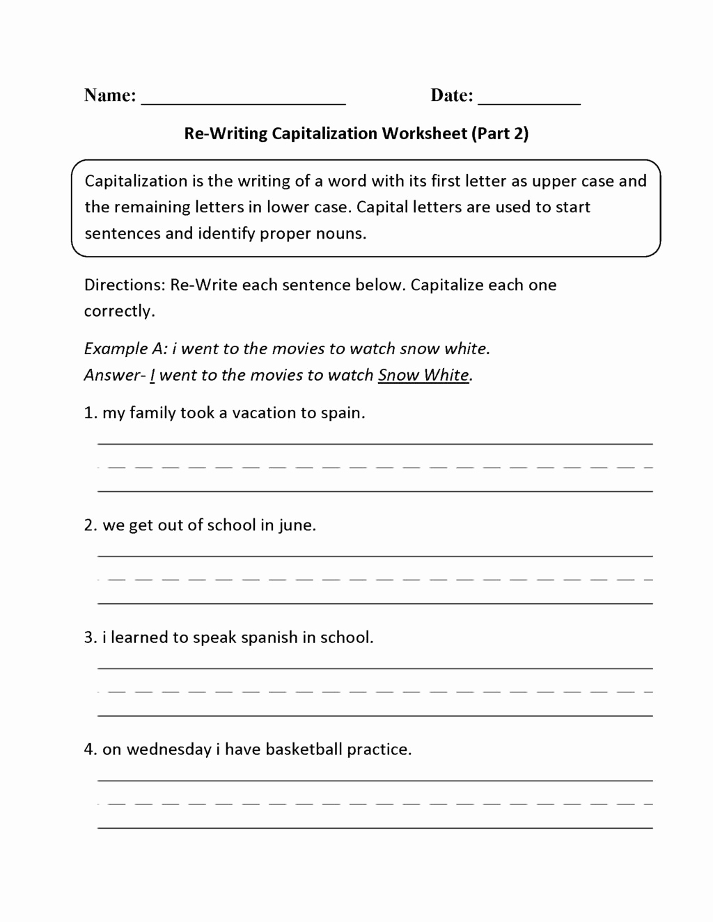 Paragraph Editing Worksheets 4th Grade Unique 12 Paragraph Editing Worksheets 4th Grade