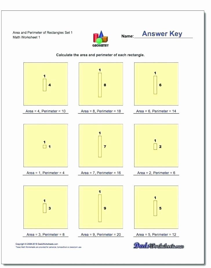 Perimeter Worksheet for 3rd Grade New Perimeter Worksheets for 3rd Grade area and Perimeter