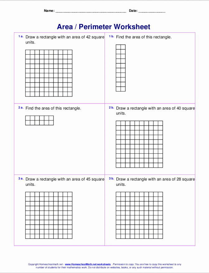 Perimeter Worksheets 3rd Grade Pdf Best Of Perimeter Worksheets 3rd Grade