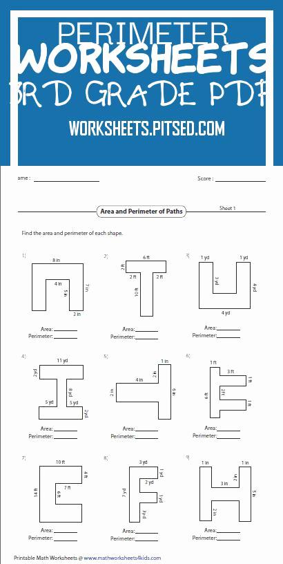 Perimeter Worksheets 3rd Grade Pdf Unique Perimeter Worksheets 3rd Grade Pdf – Super Worksheets