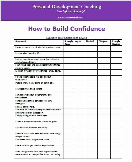 Personal Development Worksheet Beautiful Personal Development Worksheets Free