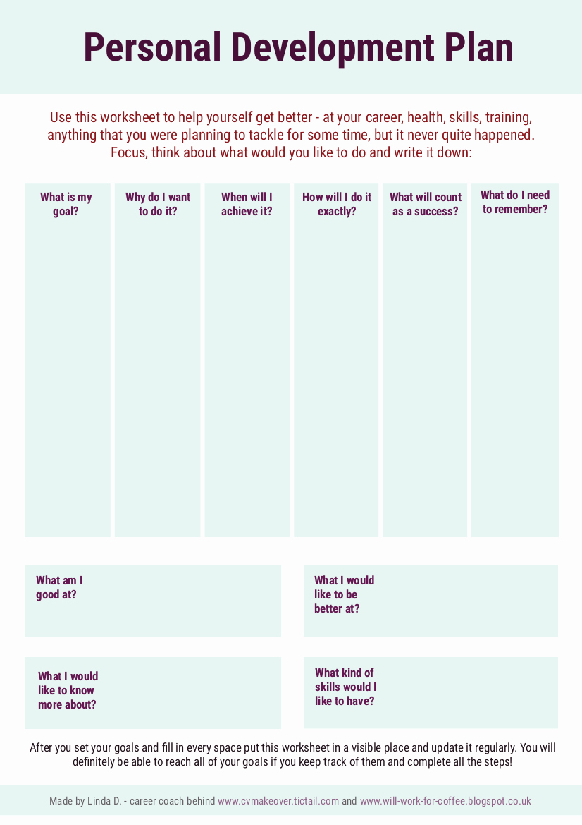 Personal Development Worksheet Best Of Pin On What Brass Players Want