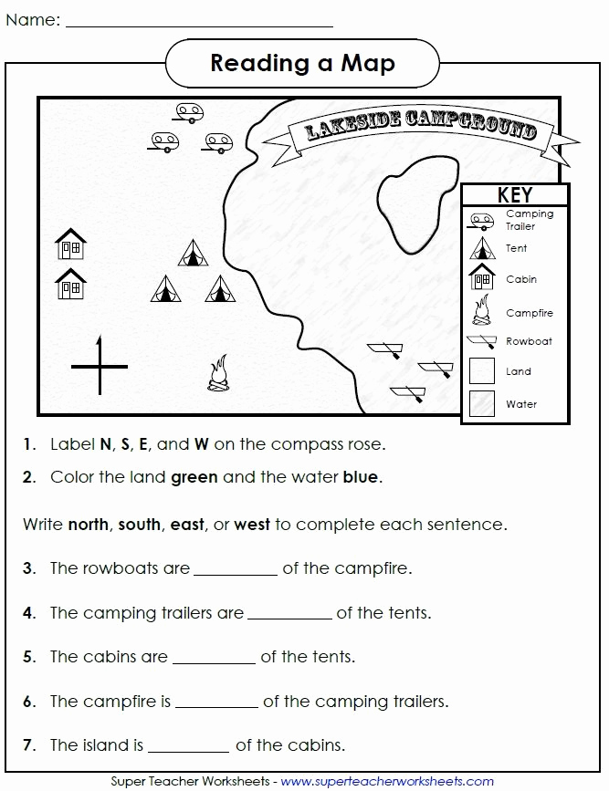 Physical and Political Maps Worksheets Beautiful Check Out This Worksheet From Our Map Skills Page to Help
