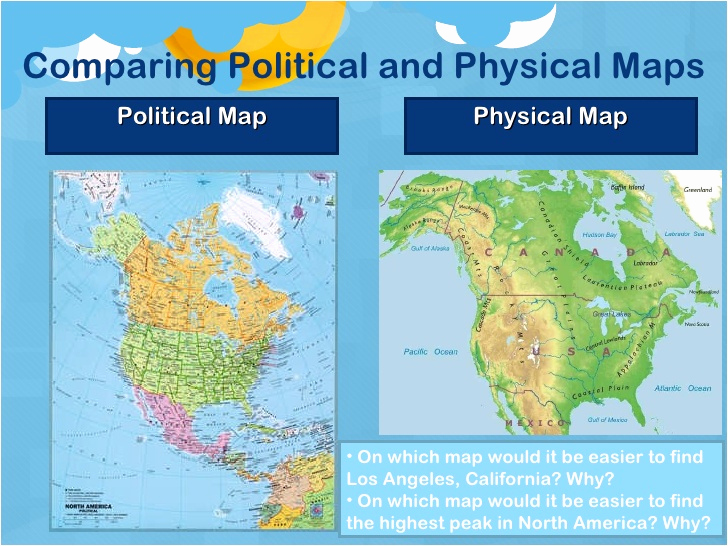 Physical and Political Maps Worksheets Fresh 5 themes and Map Skills