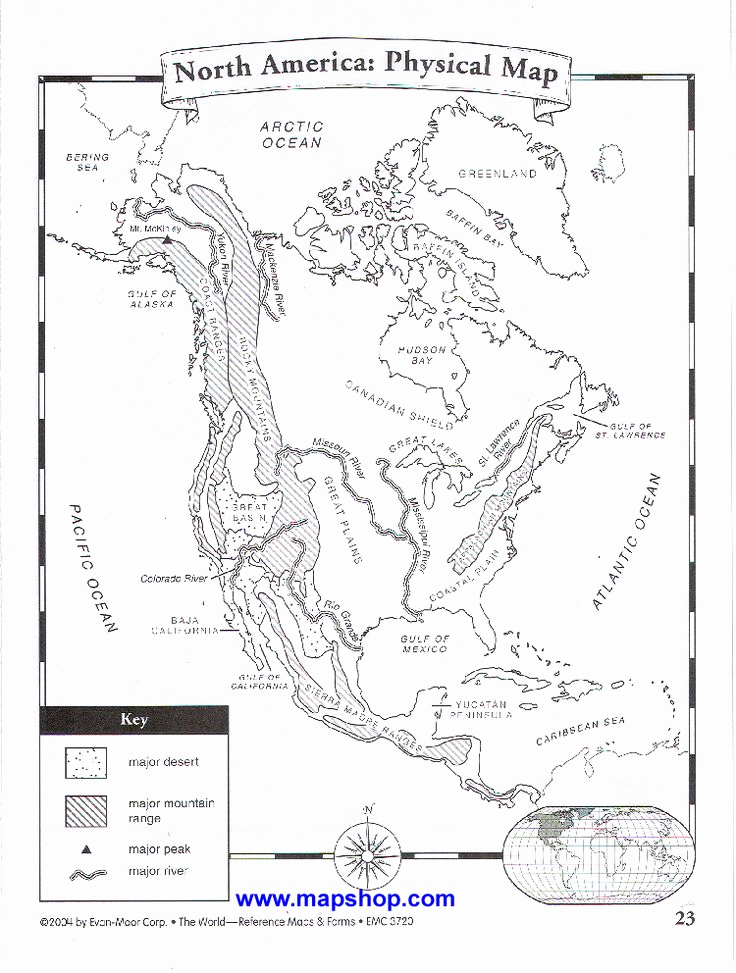 Physical and Political Maps Worksheets Fresh Physical Map Worksheet In 2020 with Images
