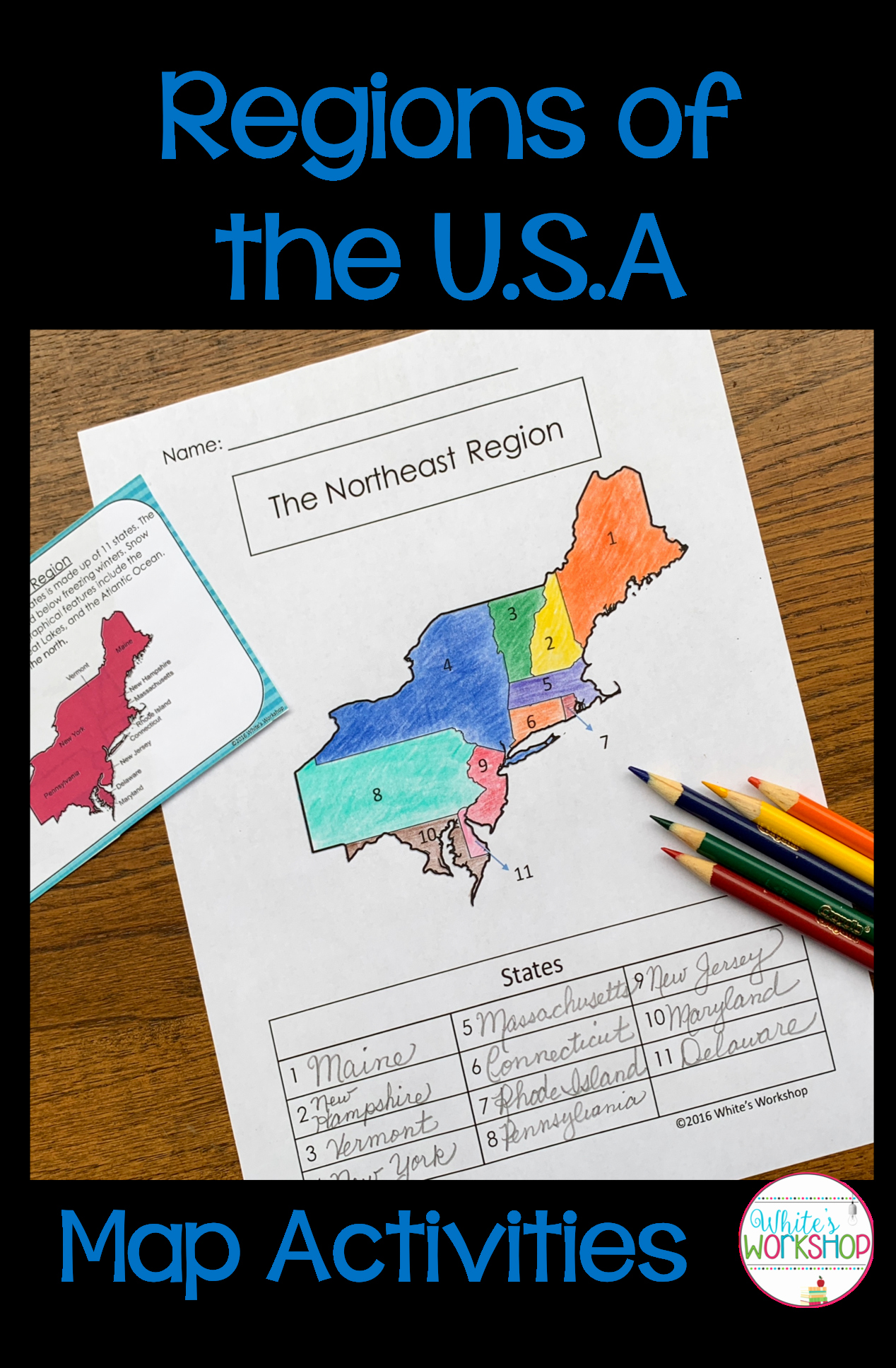 Physical and Political Maps Worksheets New Regions Of the United States Map Activities with Images
