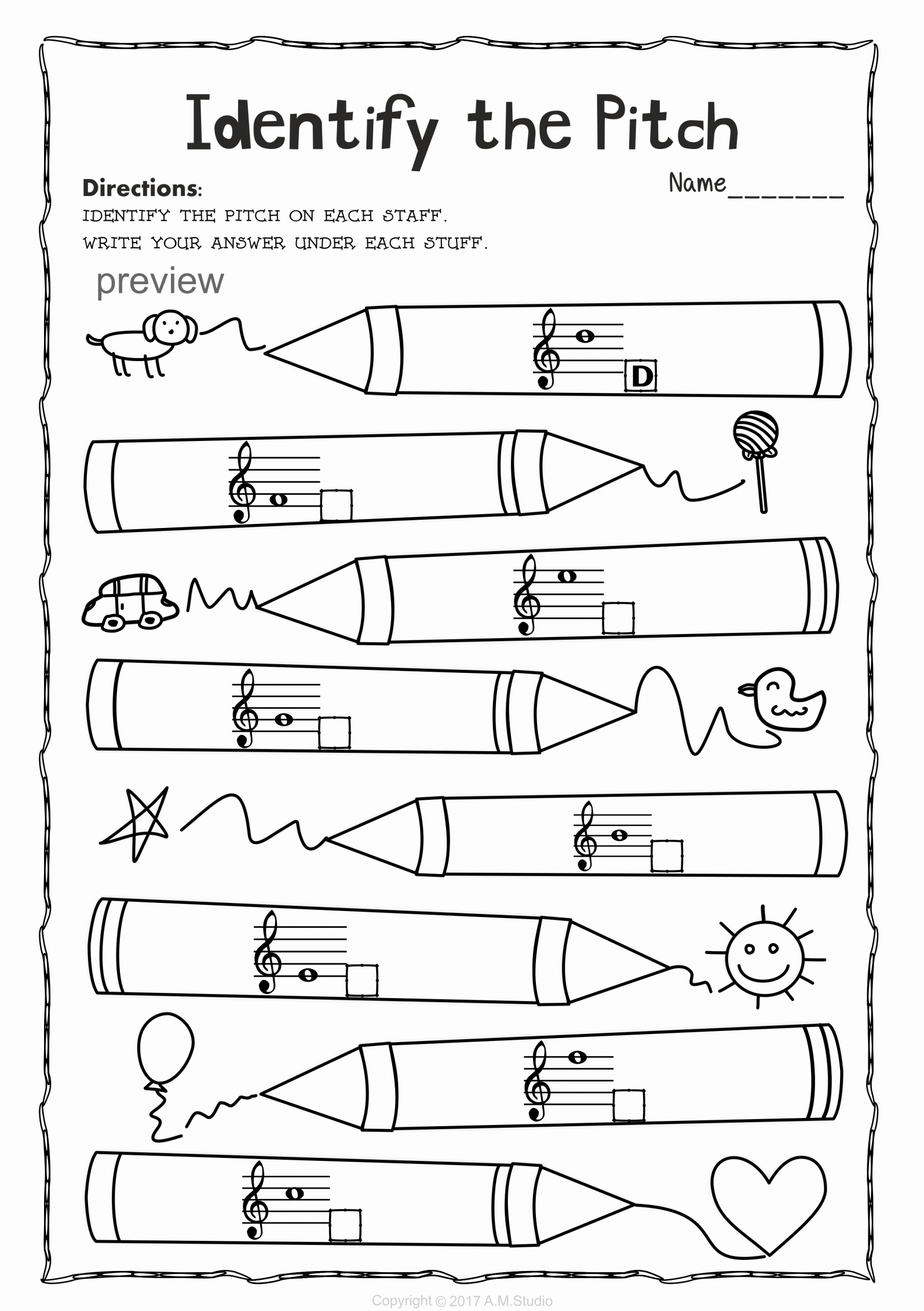 Piano Worksheets for Kids Best Of Back to School Treble Clef Note Naming Worksheets