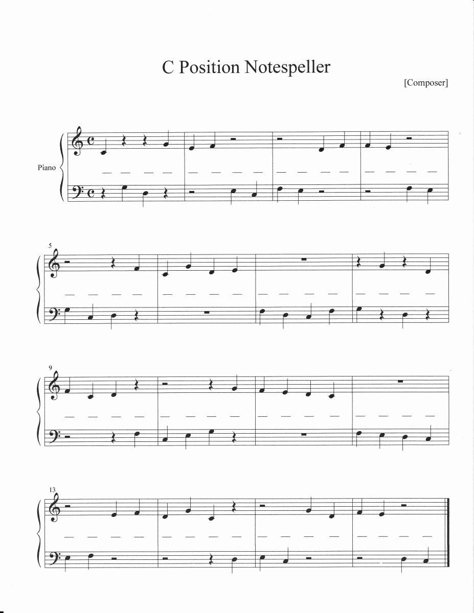 Piano Worksheets for Kids Elegant 14 Best Of Printable Piano Worksheets for Students
