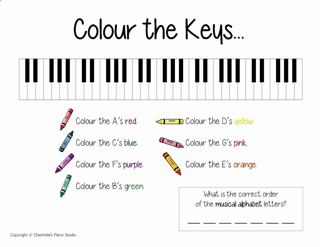 Piano Worksheets for Kids Lovely Beginning Piano Worksheets I Can Count Rhythm – A