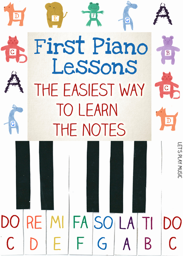 Piano Worksheets for Kids Unique First Piano Lessons for Kids Easiest Way to Learn the Notes