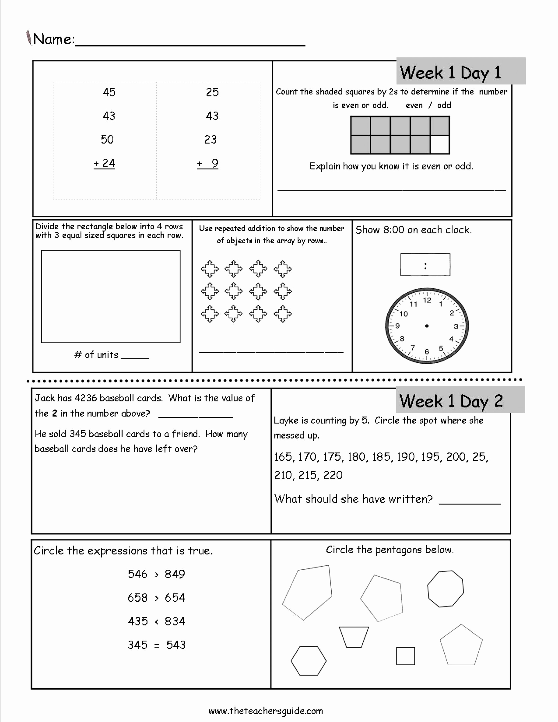 Place Value Worksheet 3rd Grade New Place Value Worksheets 3rd Grade for Download Place Value