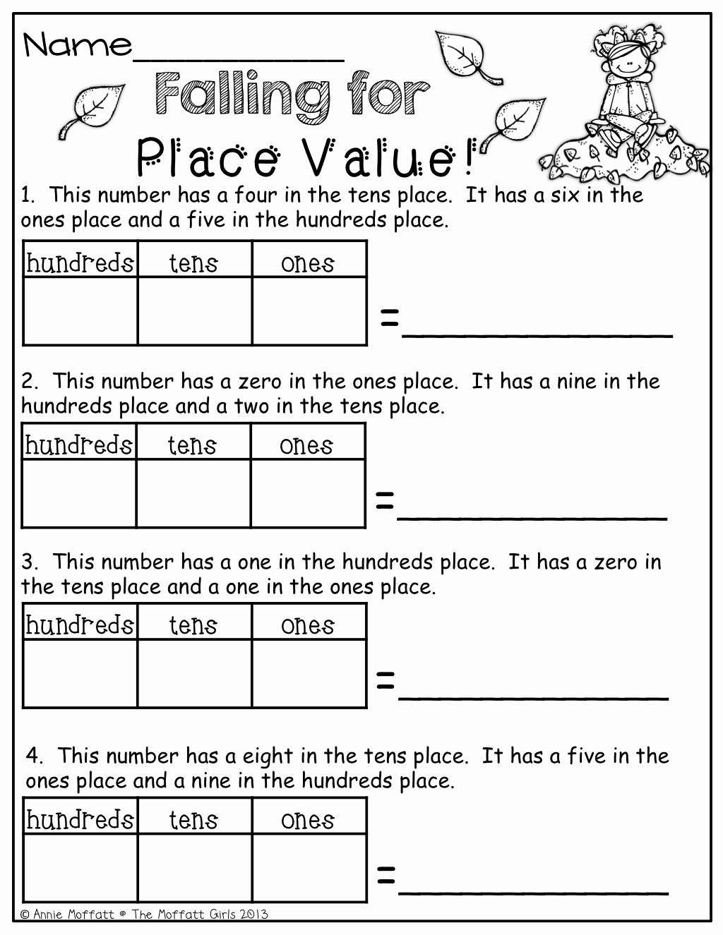 Place Value Worksheet 3rd Grade Unique 3rd Grade Place Value Worksheets Diy Worksheet