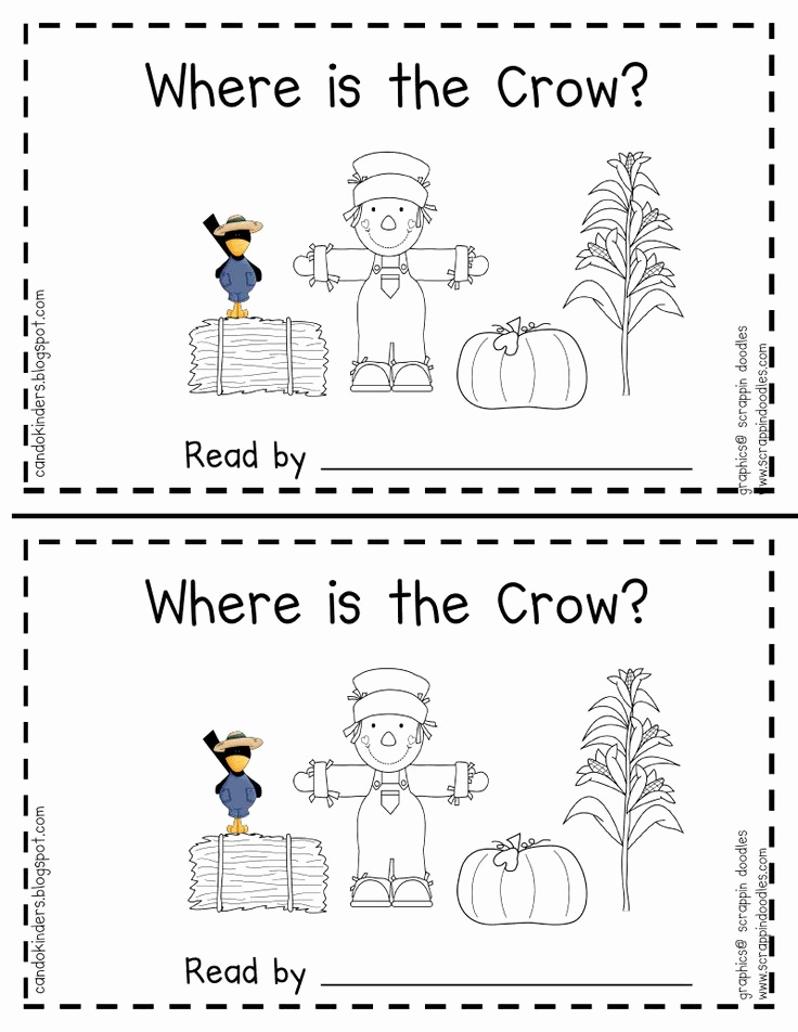 Positional Words Preschool Worksheets Lovely Fall Positional Word Book Pdf Free Opens Straight to the