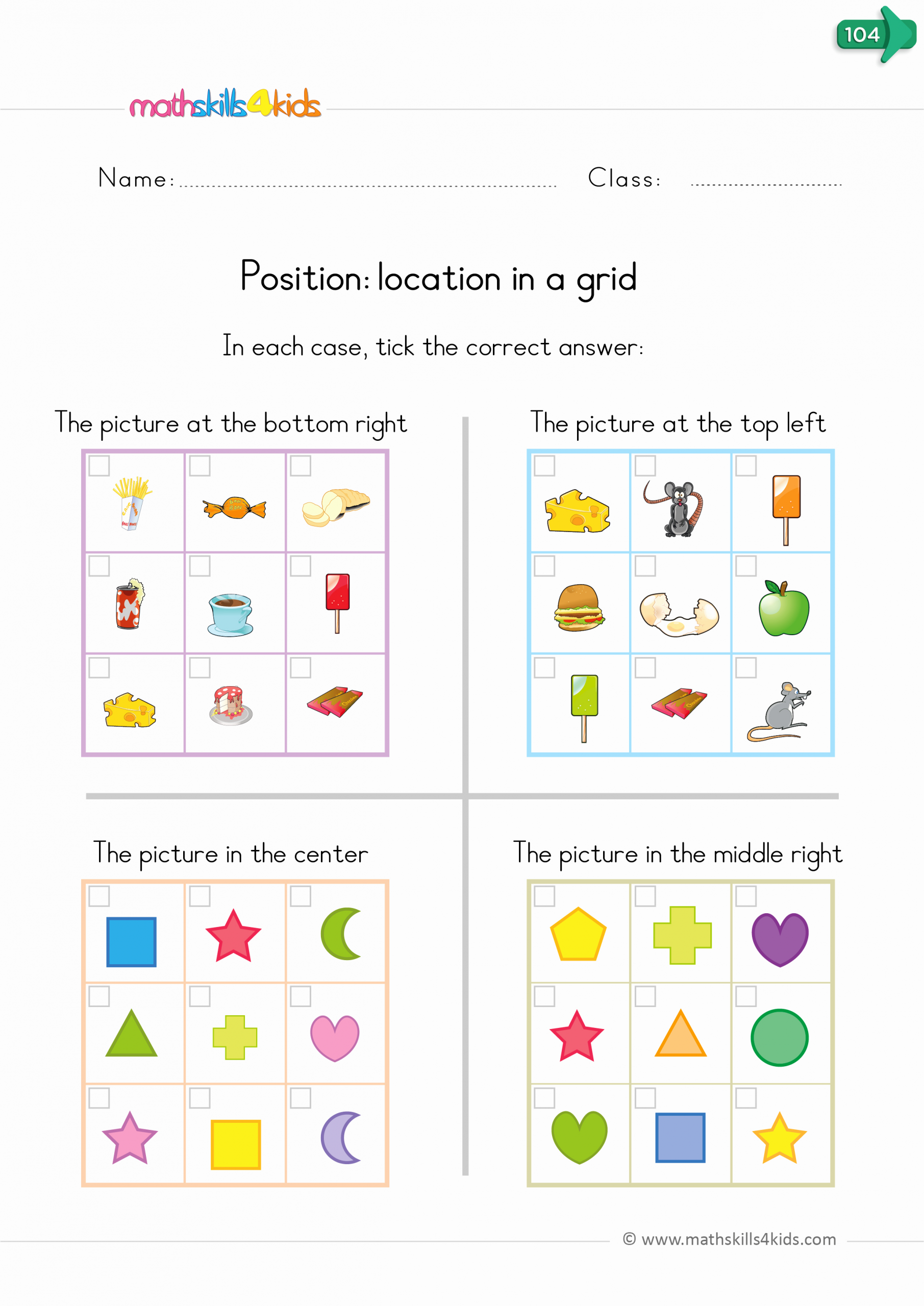 Positional Words Worksheets for Preschool Luxury Position Worksheets for Kindergarten