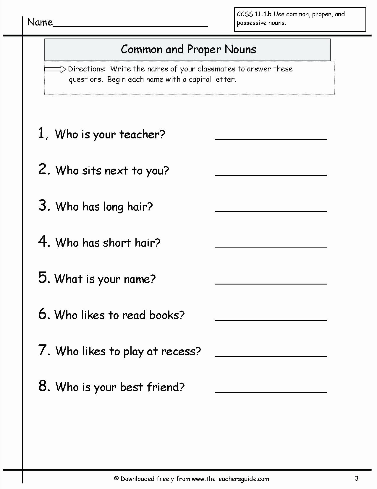 Possessive Pronouns Worksheet 2nd Grade Best Of 20 Possessive Noun Worksheet 2nd Grade