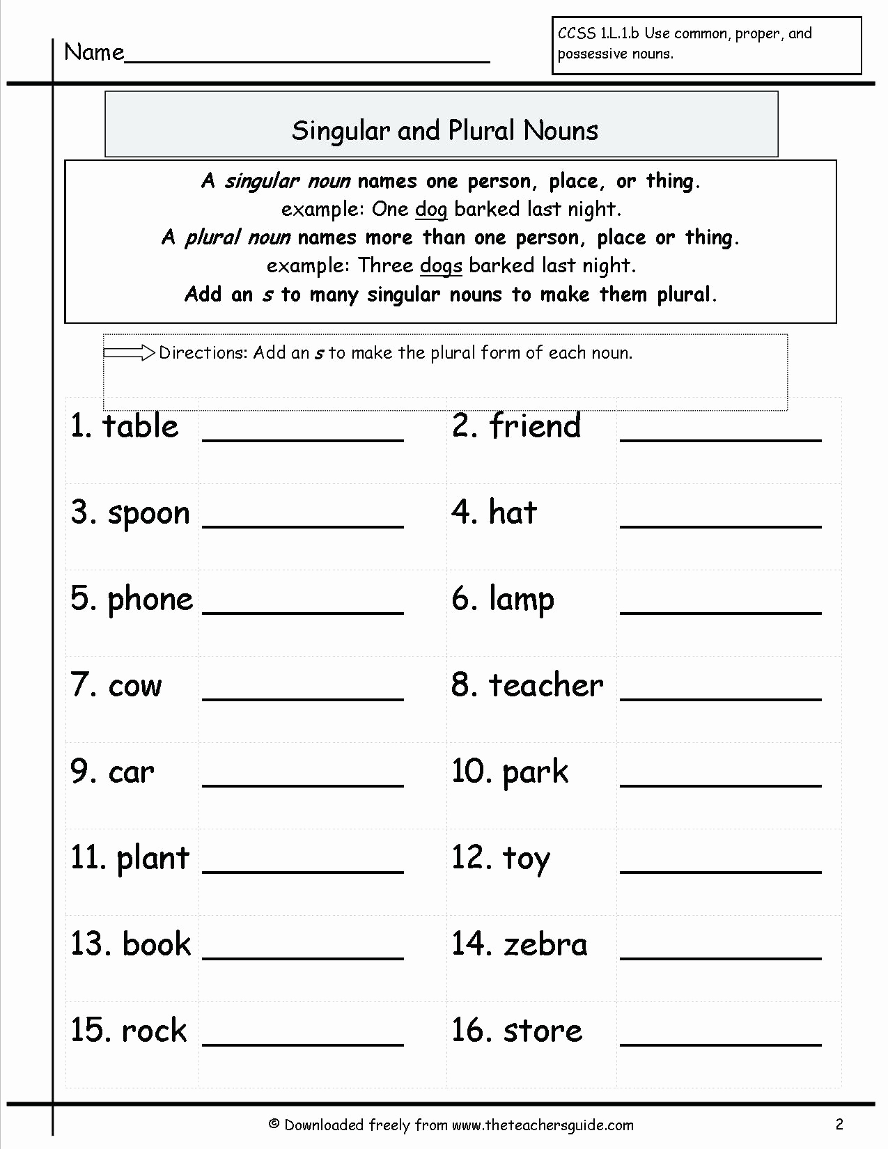 Possessive Pronouns Worksheet 2nd Grade Inspirational 20 Possessive Nouns Worksheet 2nd Grade