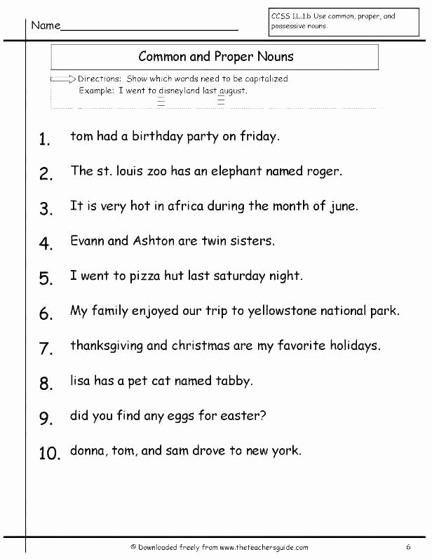 Possessive Pronouns Worksheet 5th Grade Lovely 25 Possessive Pronoun Worksheets 5th Grade