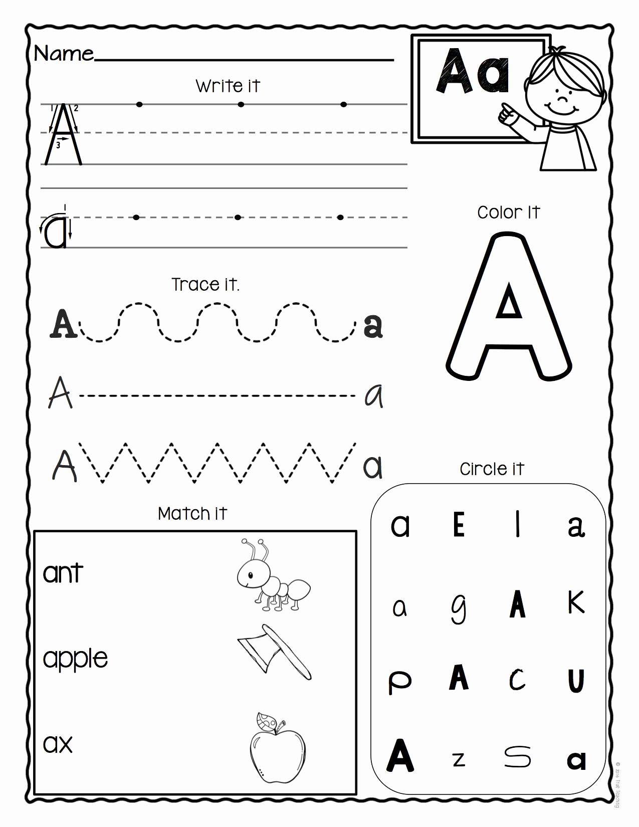 Pre Writing Worksheets Free Awesome Alphabet Worksheets Pre K