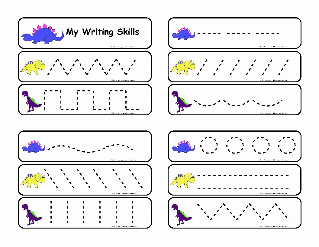 Pre Writing Worksheets Free Beautiful 9 Best Pre Writing Skills Printable Worksheet Printablee