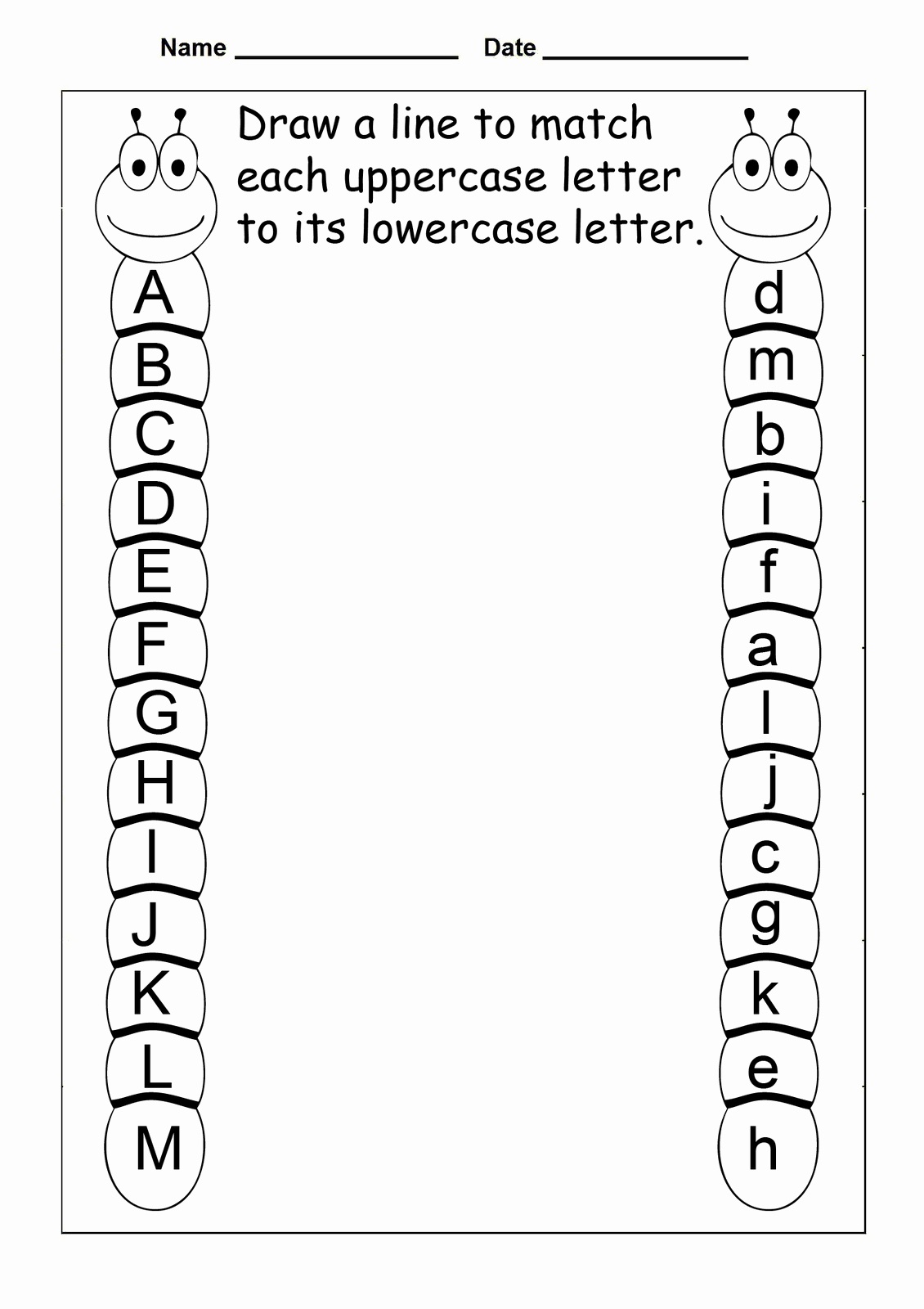 Pre Writing Worksheets Free Beautiful Free Abc Worksheets for Pre K