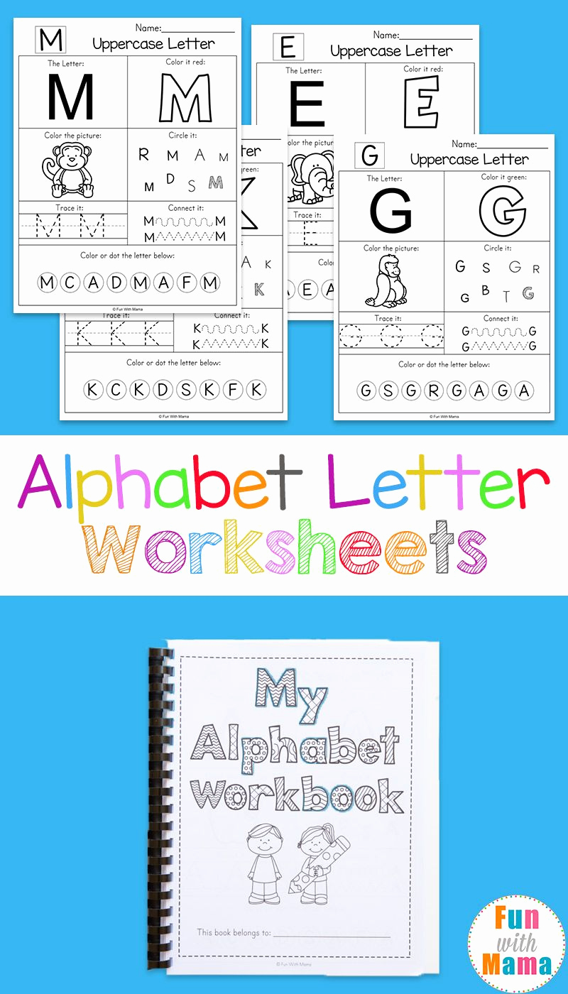 Pre Writing Worksheets Free Elegant Pre K Alphabet Worksheets Free