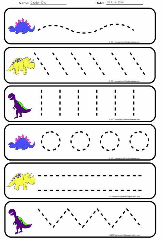 Pre Writing Worksheets Free Fresh Pre Handwriting Strokes Worksheets – Free Worksheets Samples