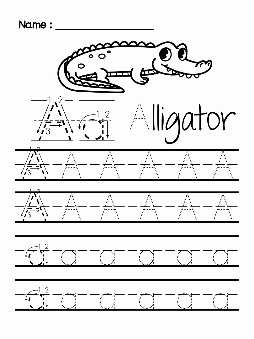 Pre Writing Worksheets Free Lovely 7 Best Preschool Writing Worksheets Free Printable Letters