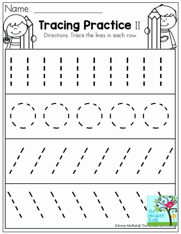 Pre Writing Worksheets Free Lovely Pre Writing Strokes Worksheets tons Printable for