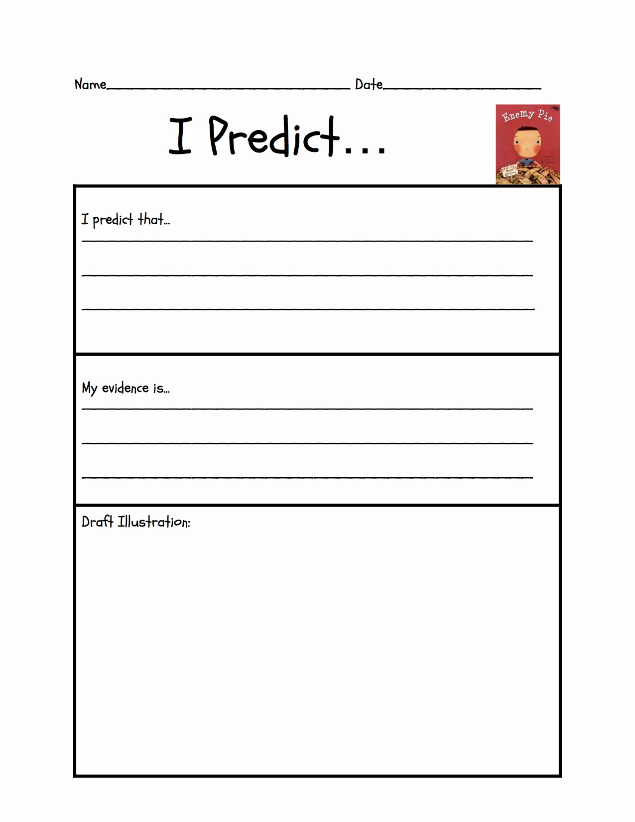 Prediction Worksheets for 3rd Grade New 20 Prediction Worksheets for 3rd Grade