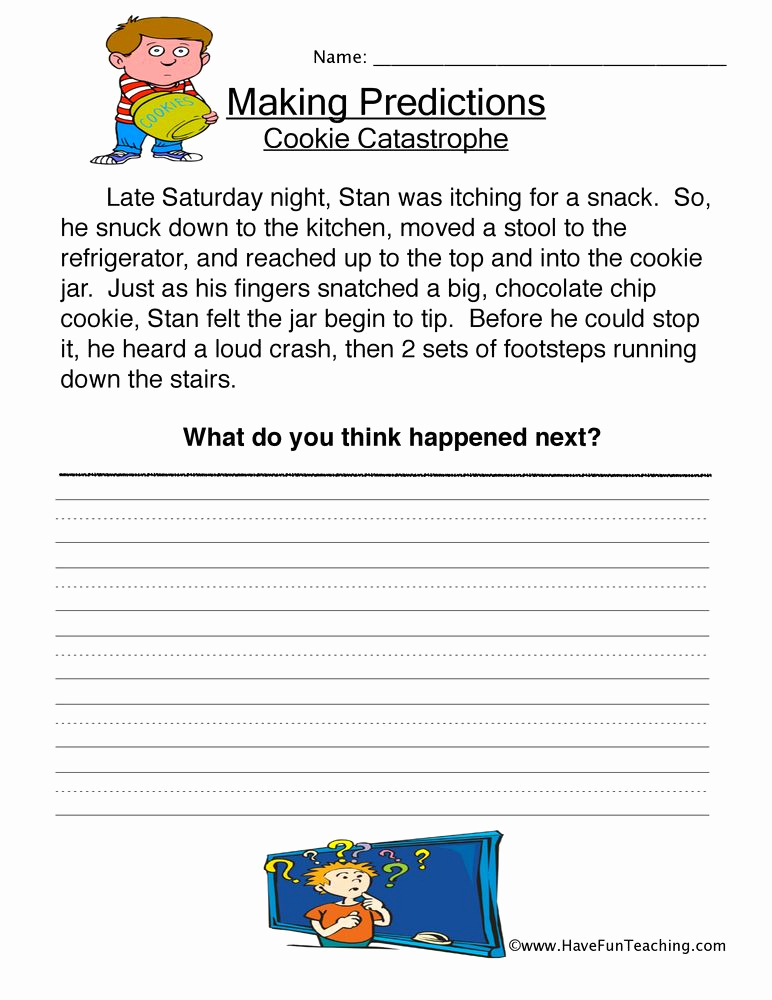 Predictions Worksheets 1st Grade Beautiful Pin by Have Fun Teaching On First Grade In 2020