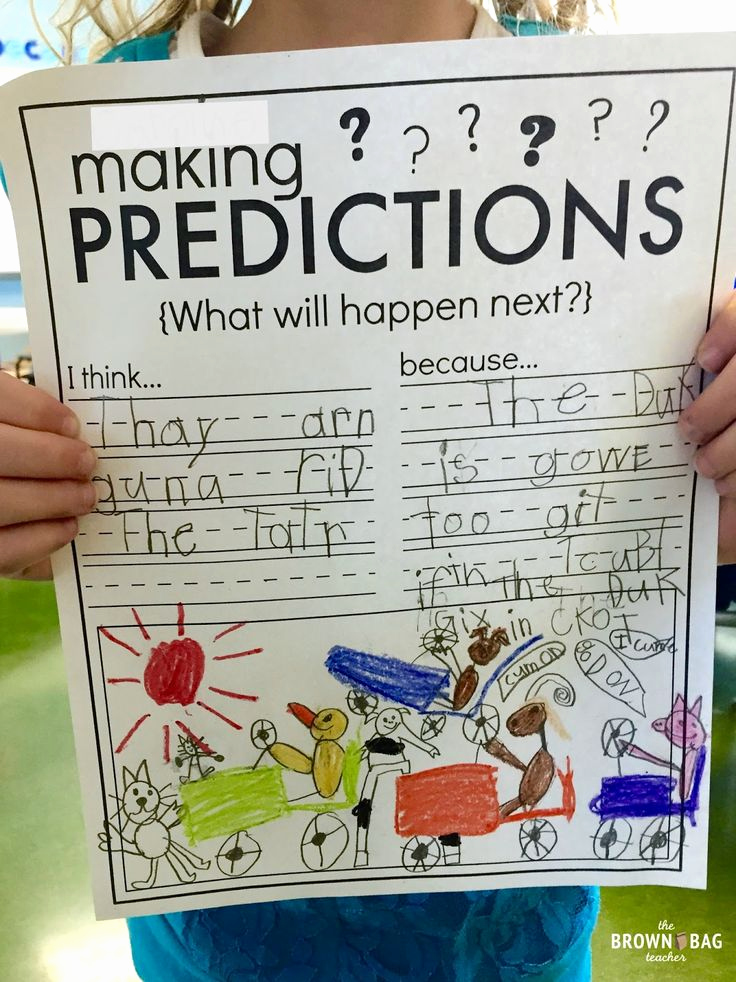 Predictions Worksheets 1st Grade Best Of Making Predictions 1st Grade Read Aloud the Brown Bag