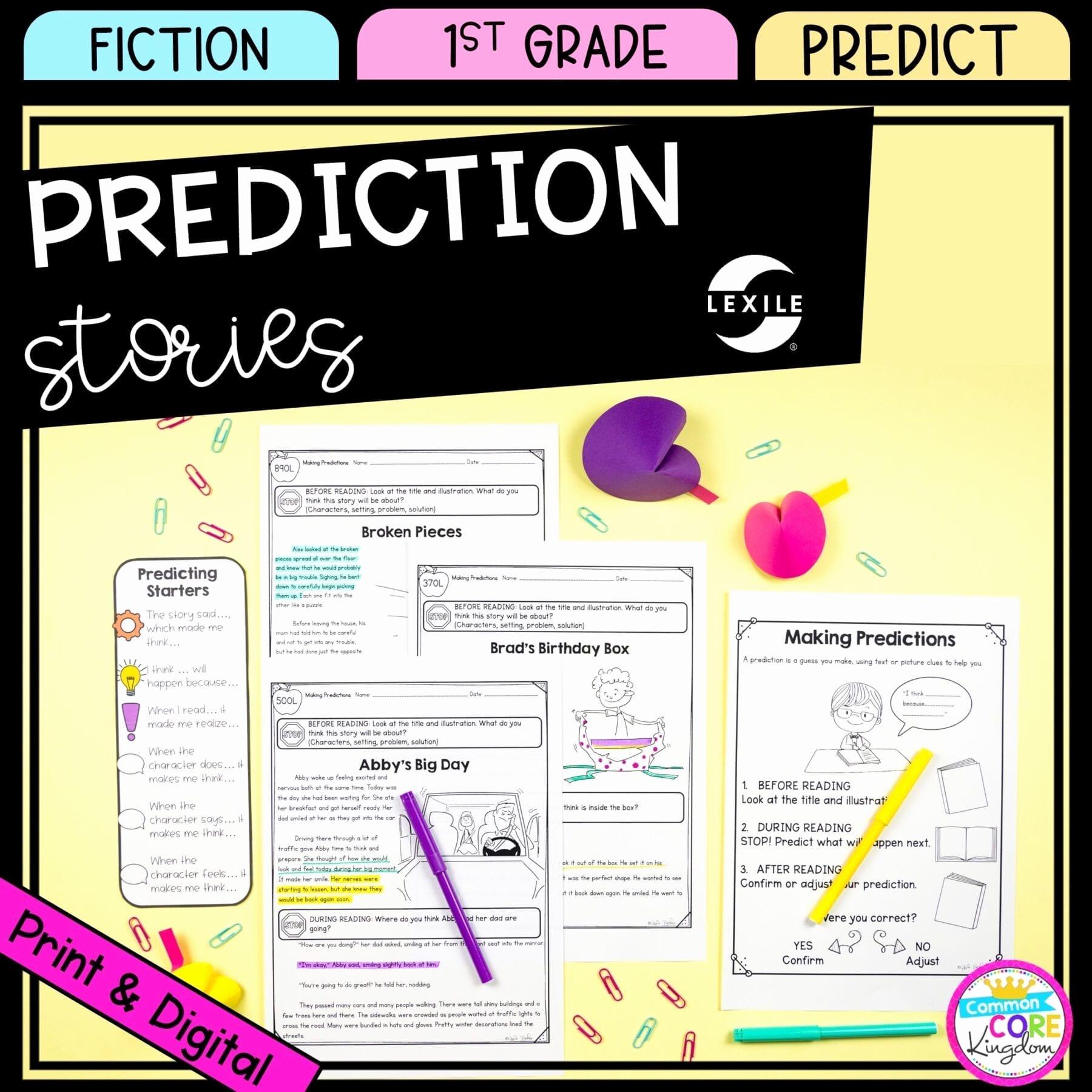 Predictions Worksheets 1st Grade Unique Making Predictions 1st Grade Google Distance Learning