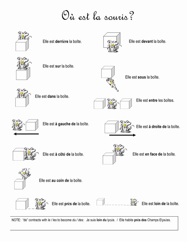 Preposition Worksheets Middle School New Preposition Worksheets for Middle School In 2020