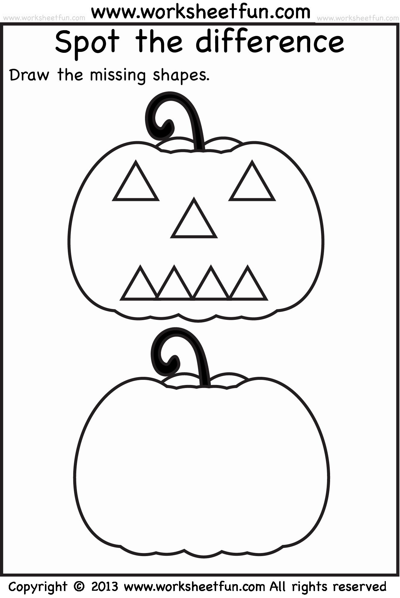 Preschool Halloween Worksheets Free Awesome Halloween Activity