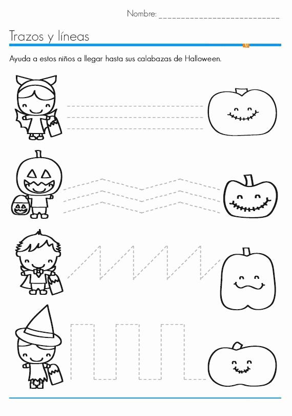 Preschool Halloween Worksheets Free Inspirational Halloween Worksheets for Kids