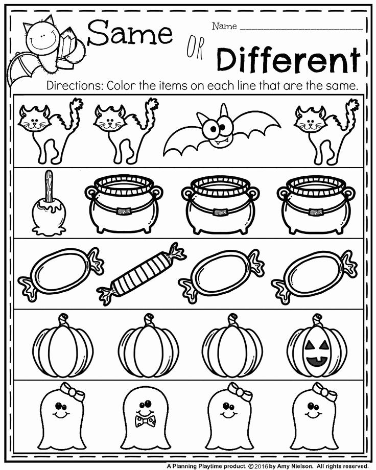 Preschool Halloween Worksheets Free Inspirational October Preschool Worksheets