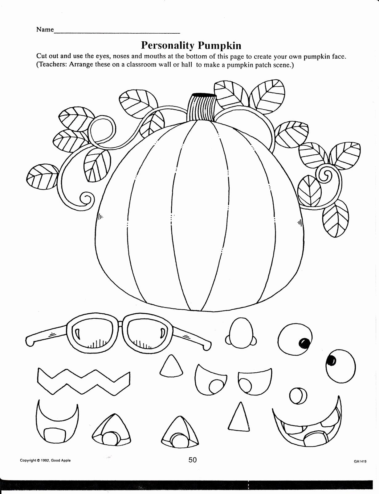 Preschool Halloween Worksheets Free Unique 7 Best Free Fall Printables for Students Printablee