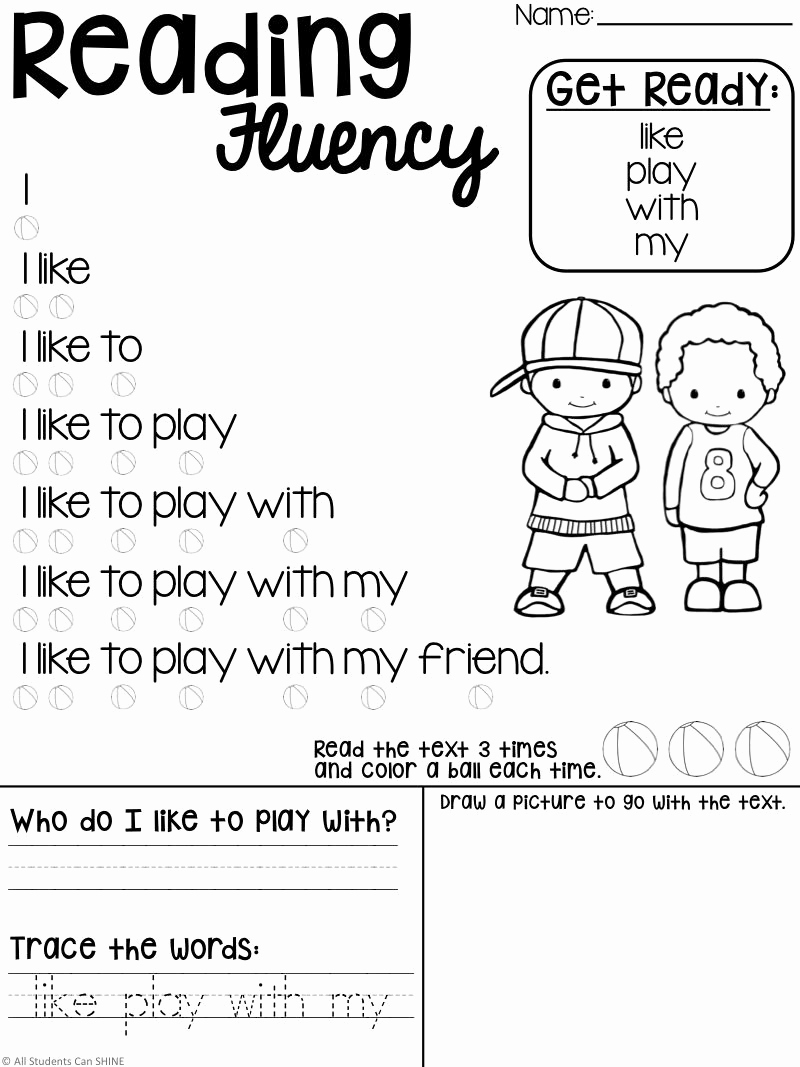 Preschool Reading Comprehension Worksheets Awesome Reading Resources Freebie