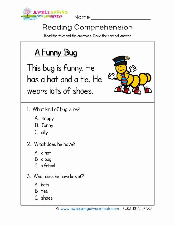 Preschool Reading Comprehension Worksheets Elegant Prentresultaat Vir Reading Short Stories Grade 1 Printable