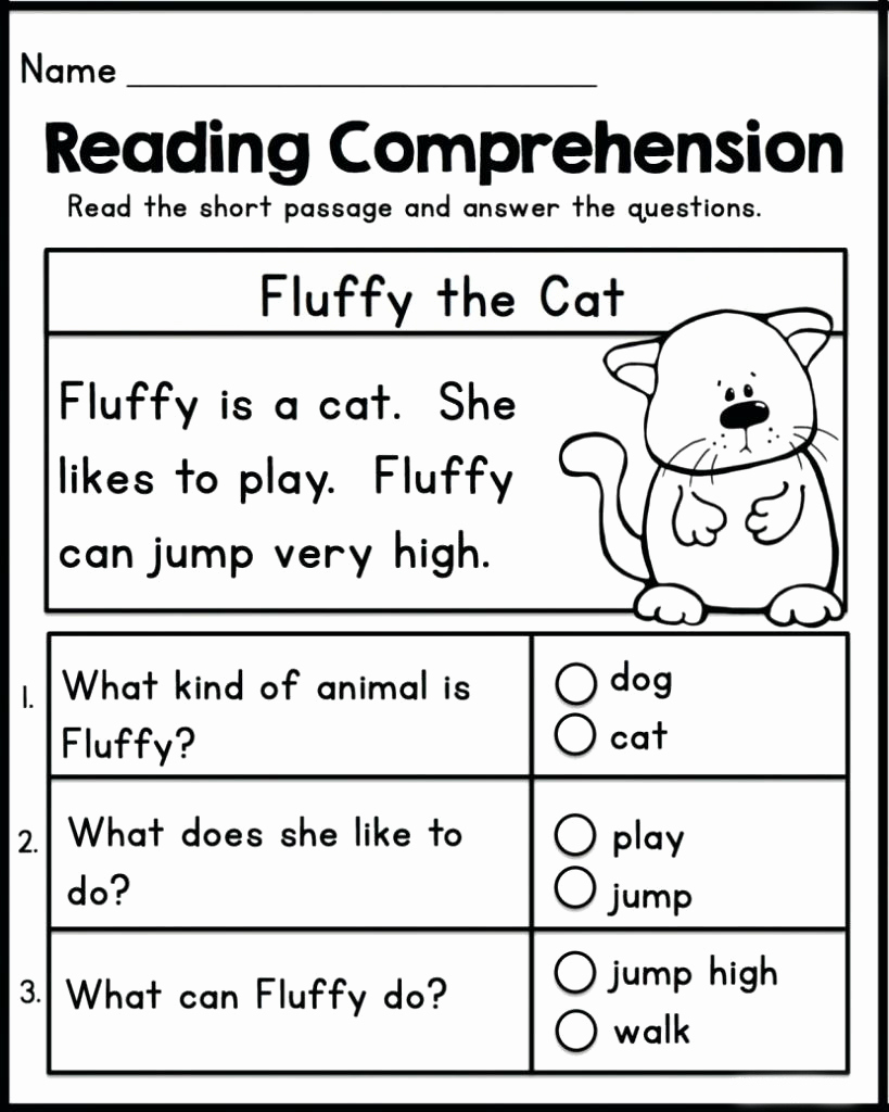 Preschool Reading Comprehension Worksheets Unique 3rd Reading Packets Coloring Pages Learny Kids