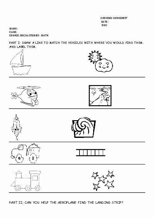 Preschool social Studies Worksheets Luxury 16 Best Of Printable Kindergarten Worksheets social