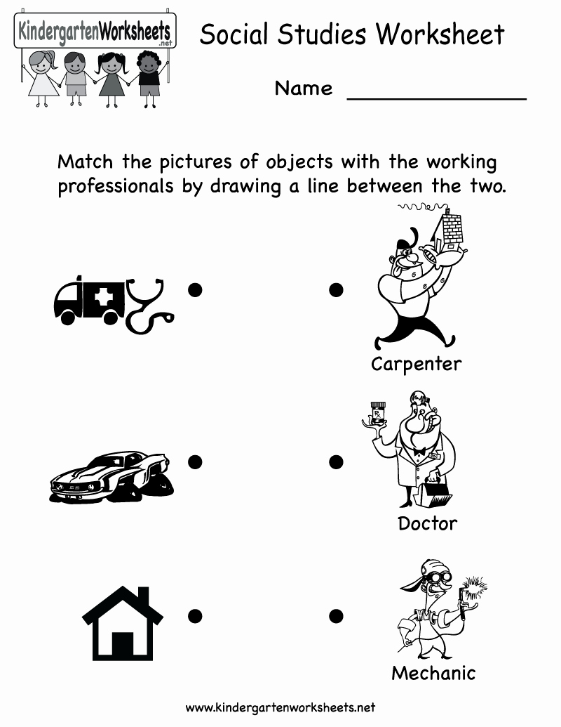Preschool social Studies Worksheets New 11 Best Of Job Career Worksheet Smart Goal