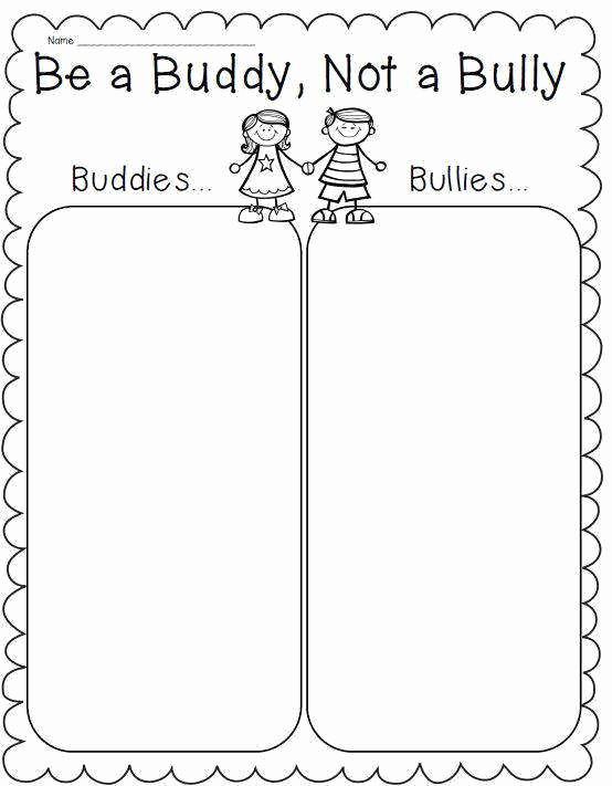 Printable Bullying Worksheets Awesome Bullying Worksheets