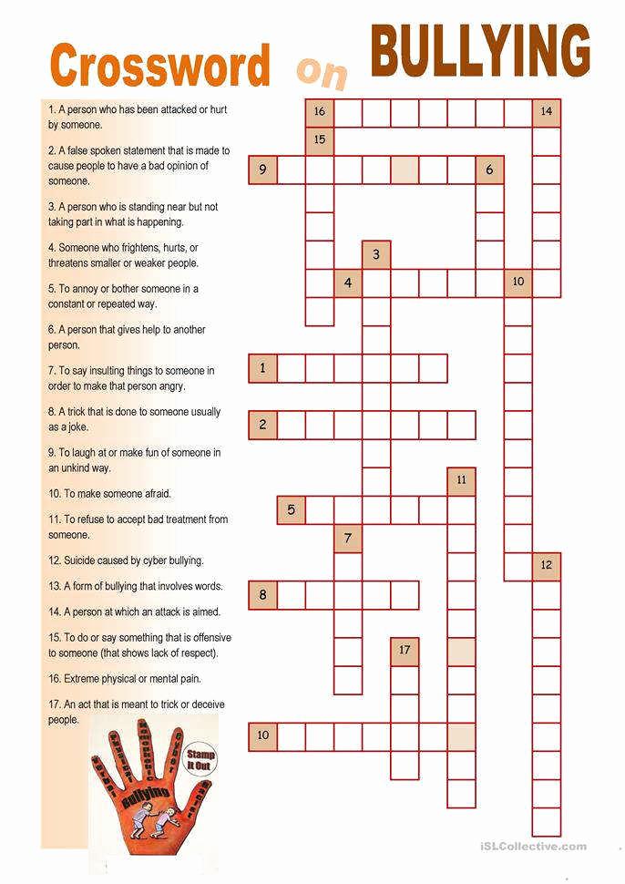 Printable Bullying Worksheets Lovely Bullying Worksheets