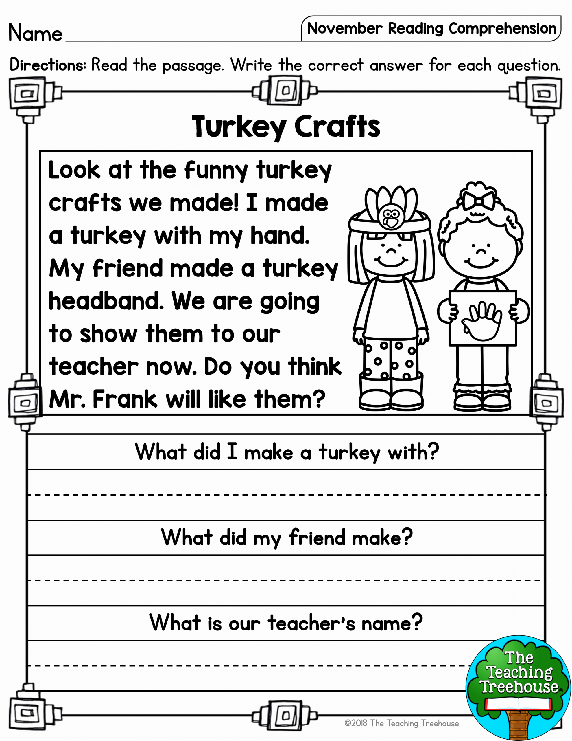 Printable First Grade Reading Worksheets New First Grade Reading Worksheet