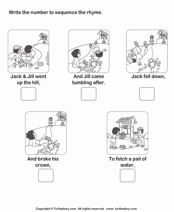 Printable Sequence Worksheets New Free Printable Sequencing Worksheets for First Grade 3