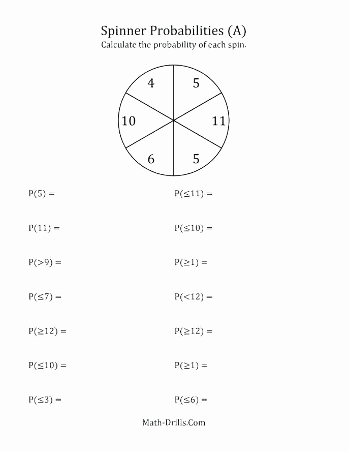 Probability Worksheets High School Pdf Awesome Pin On Examples Printable Preschool Worksheets