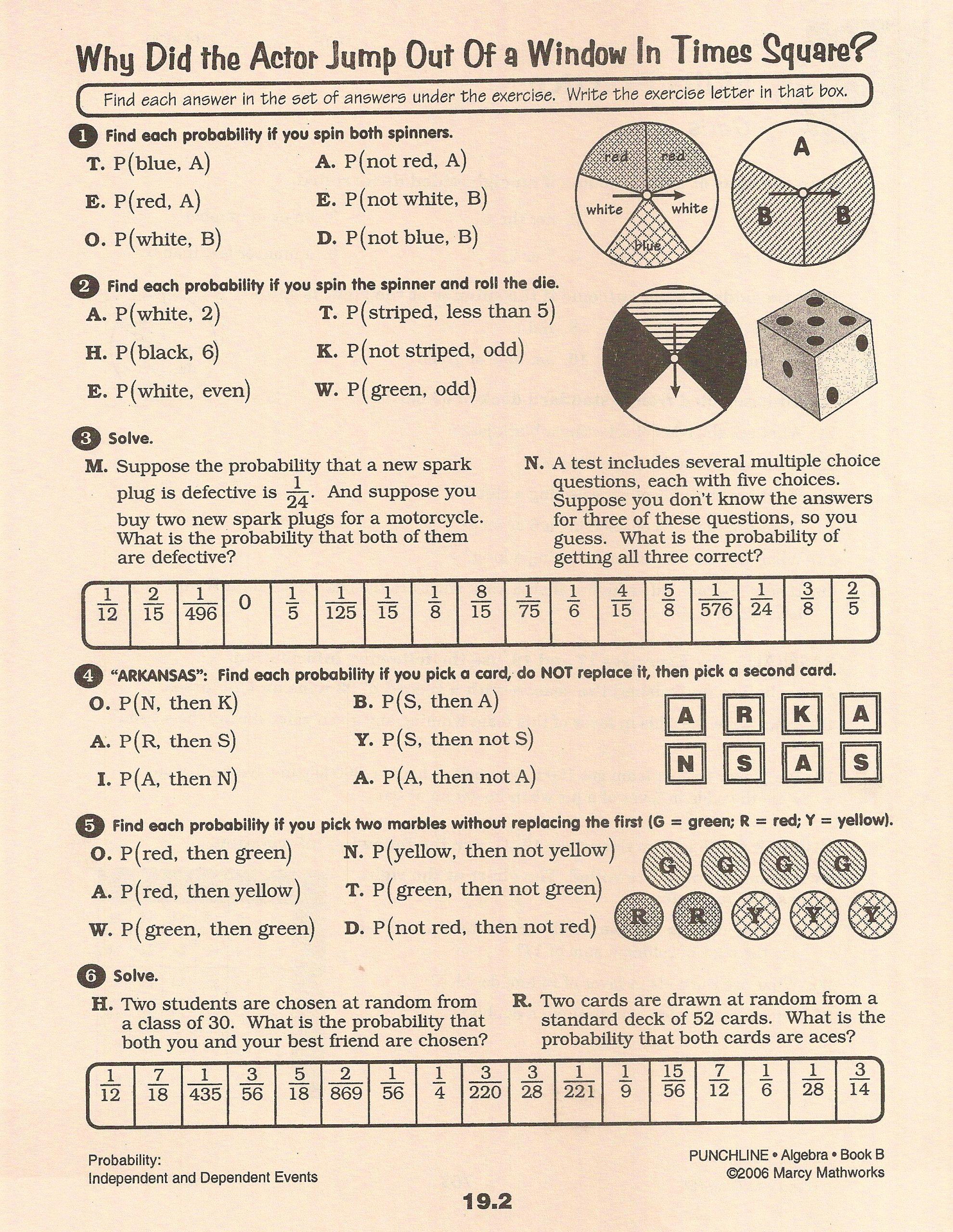 Probability Worksheets High School Pdf Fresh 20 Probability Worksheets High School Pdf