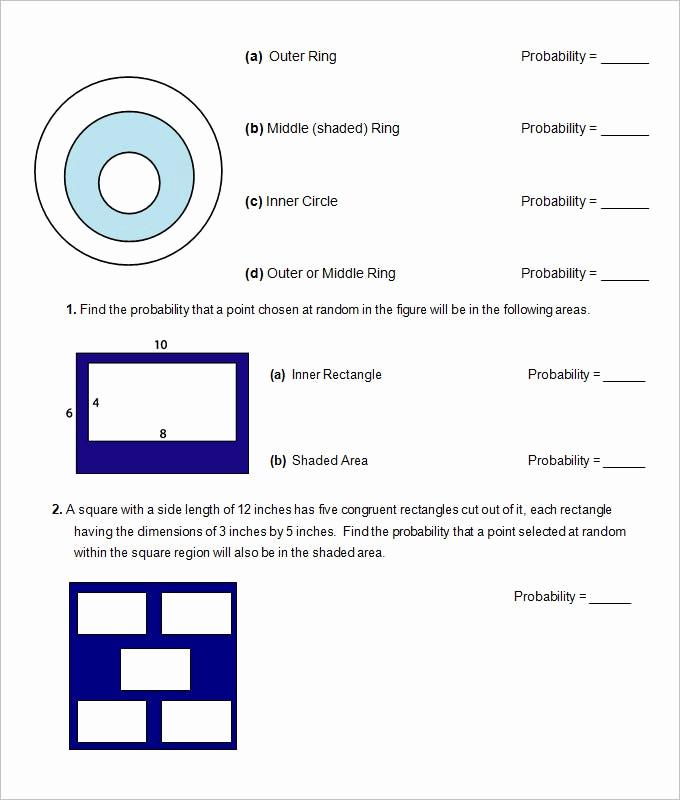 Probability Worksheets High School Pdf Unique 16 Sample High School Geometry Worksheet Templates