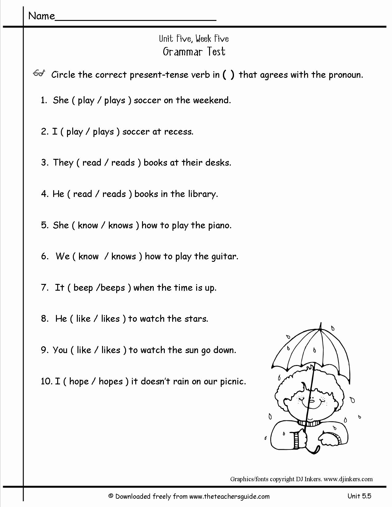 Pronoun Worksheets 2nd Grade Beautiful 9 Best Of Pronoun Antecedent Agreement Worksheets